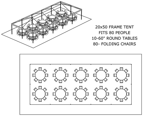 Super Tent Layouts Seating Capacity Chart Aa Party And Tent Download Free Architecture Designs Estepponolmadebymaigaardcom